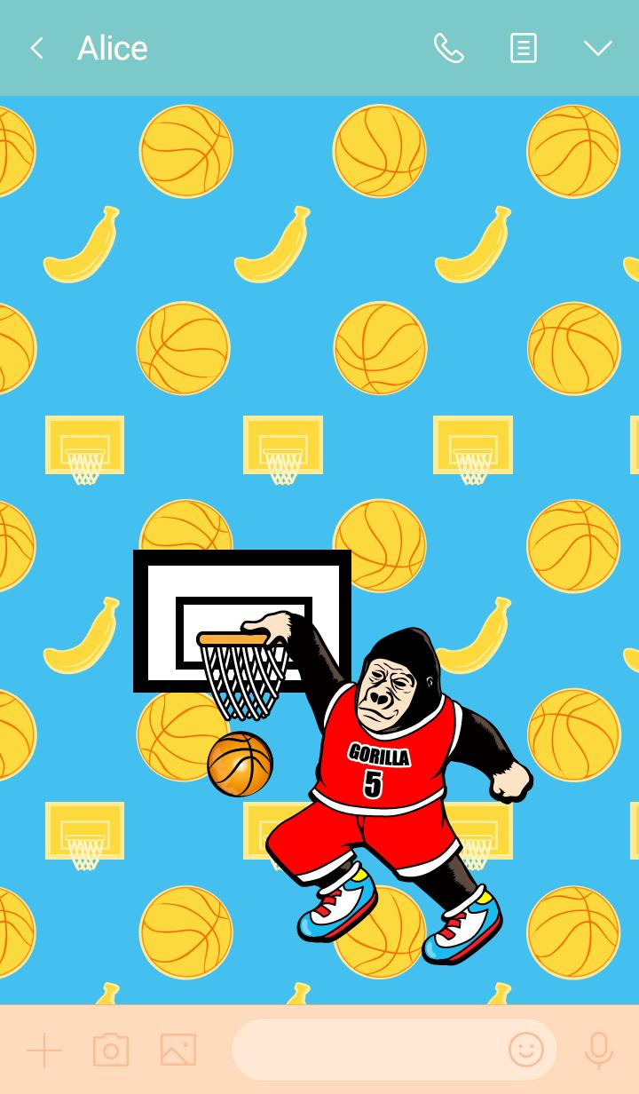 Gorigo Gorilla 117籃球
