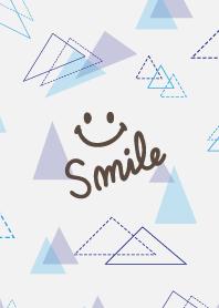 The blue triangle - smile7-