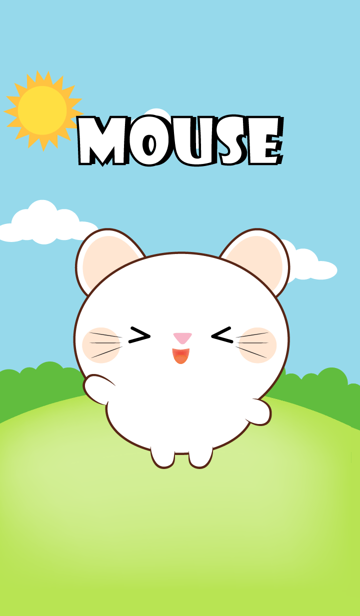 Mini White Mouse Theme