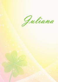 No.1634 Juliana Lucky Clover name