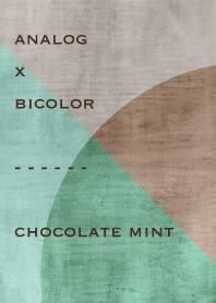 analog x bicolor - chocolate mint