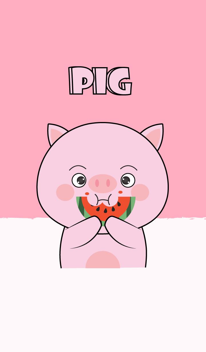 I'm Cute Cute Pink Pig Theme (jp)