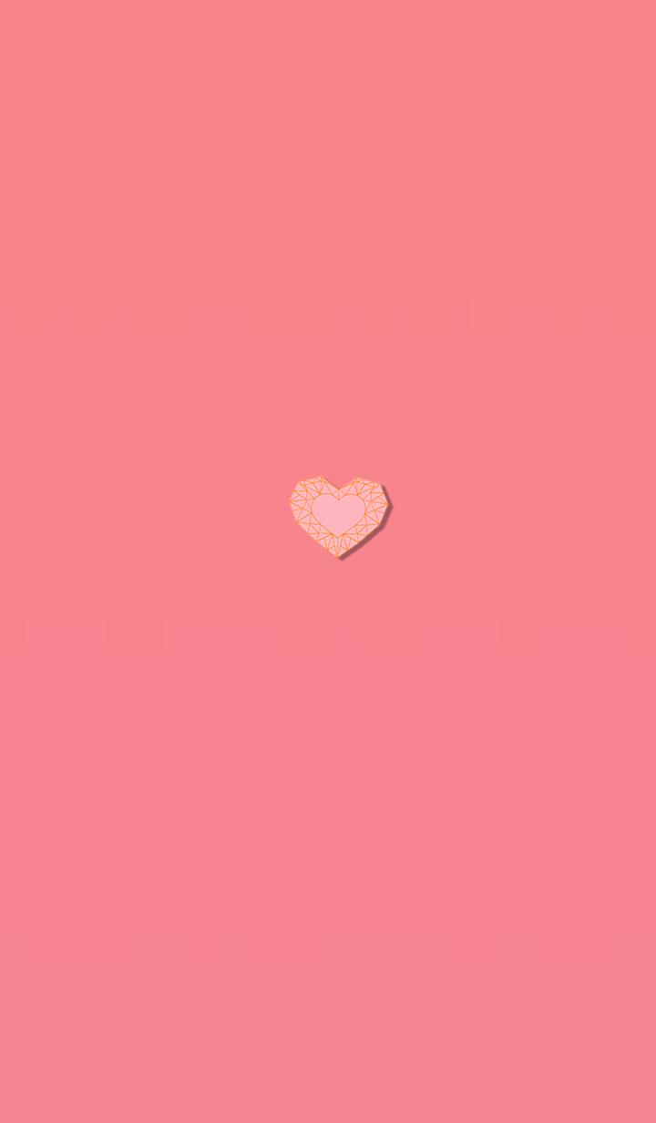 Orange heart that changes life