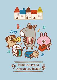 Piske和Usagi的樂隊演奏