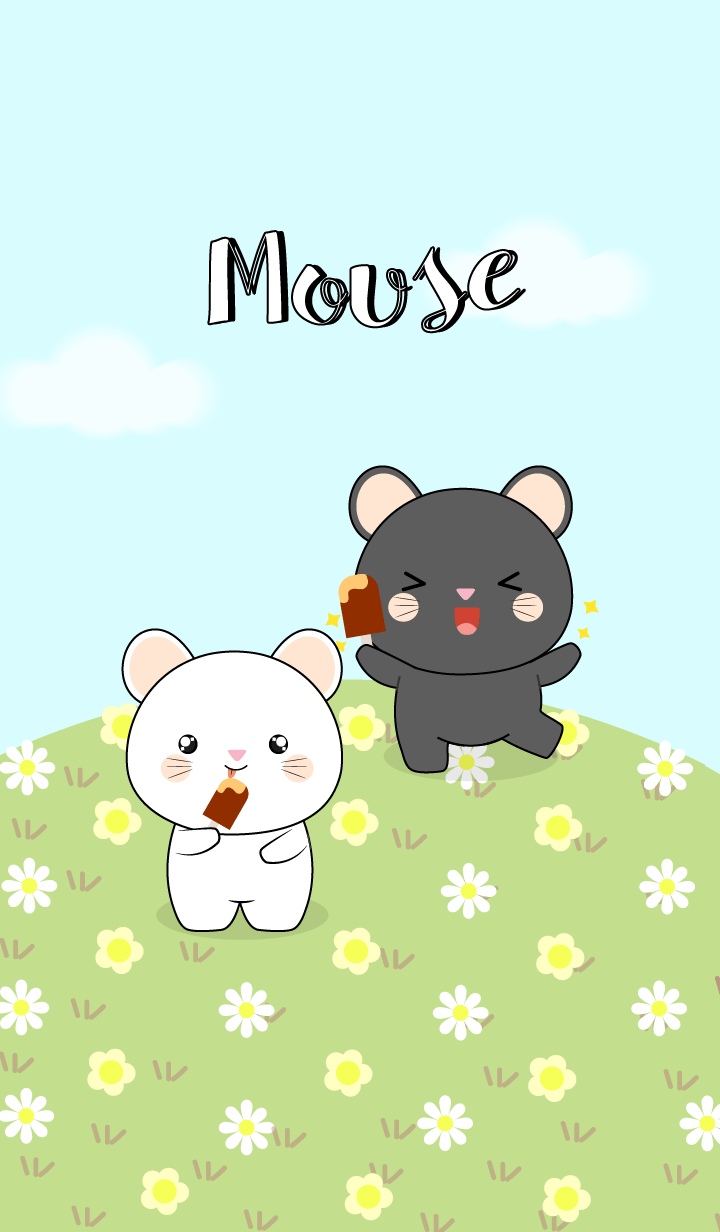 Black Mouse & White Mouse (jp)