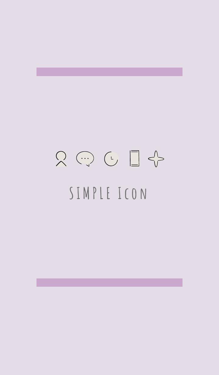Purple : Simple Theme
