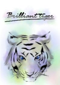 Brilliant tiger