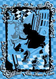 Alice Silhouette[Looking Glass]Blue -