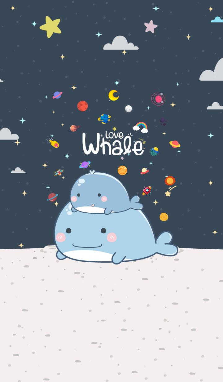 Whale Mini Night Blue