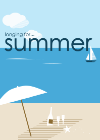 longing for summer [#cool] -Simple sea-