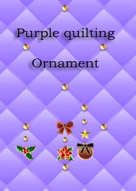 Purple quilting(Ornament)