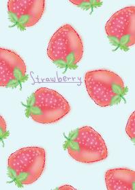 水彩畫:草莓 WV