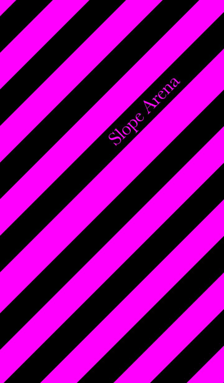 Slope Arena -hibiscus/night black-