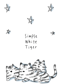 simple White Tiger