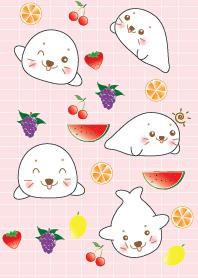 Cute seal theme v.2 (JP)