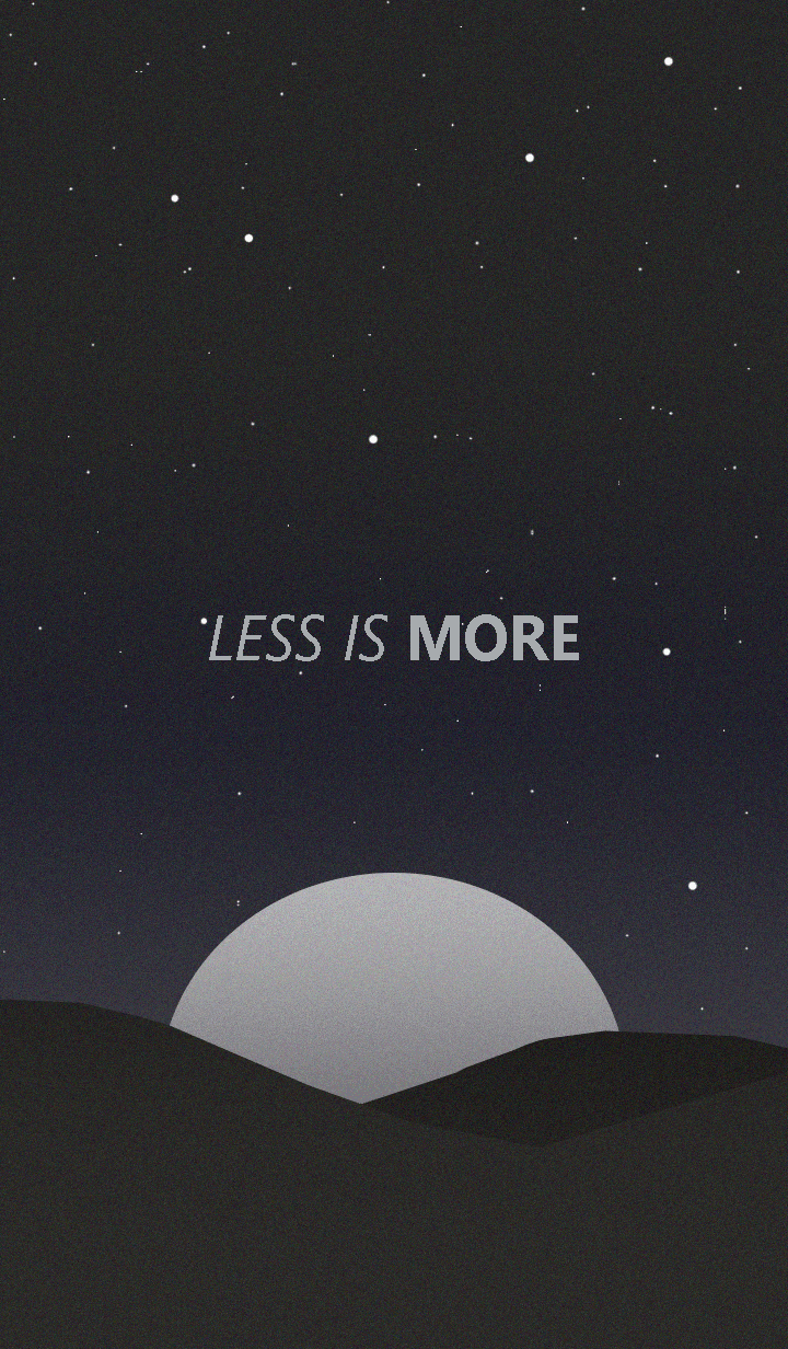 Less is more - #22 Nature