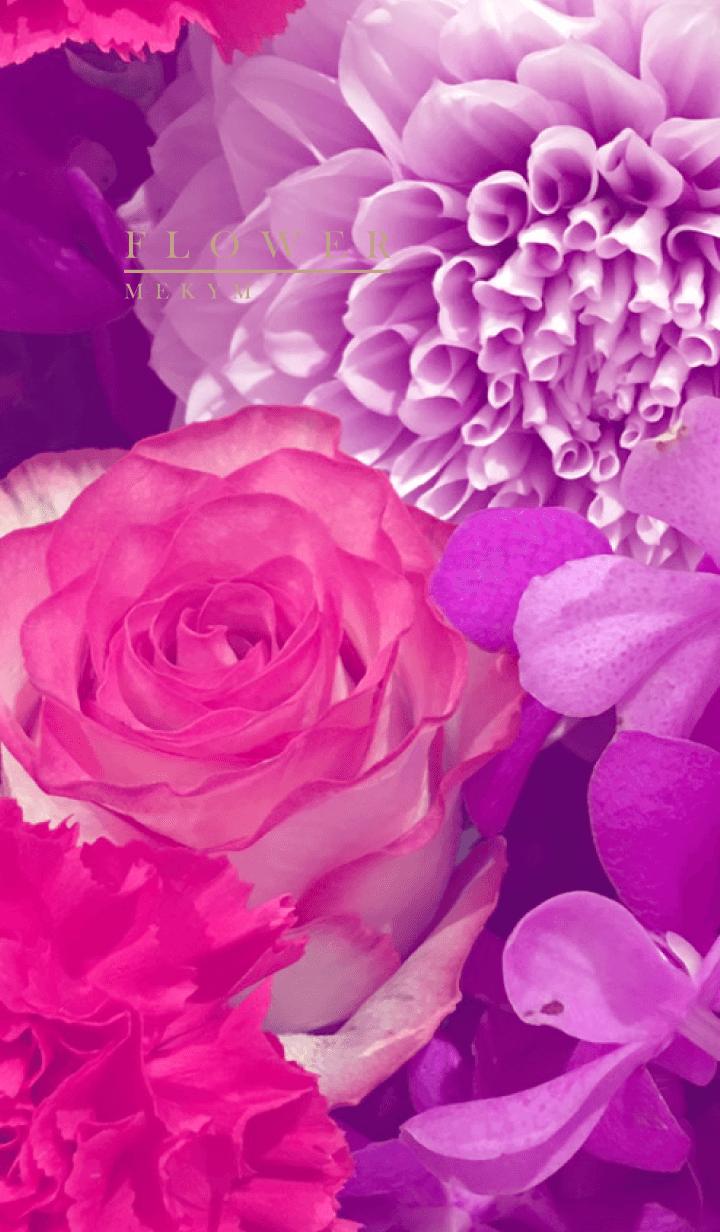 PURPLE FLOWER -MEKYM- 11
