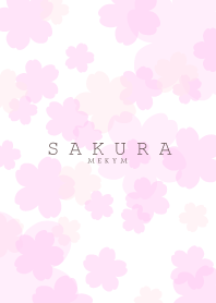 SAKURA -Cherry Blossoms- WHITE 5