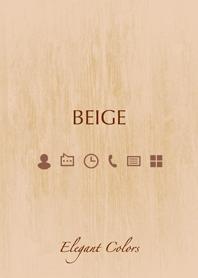 Elegant Colors -BEIGE-