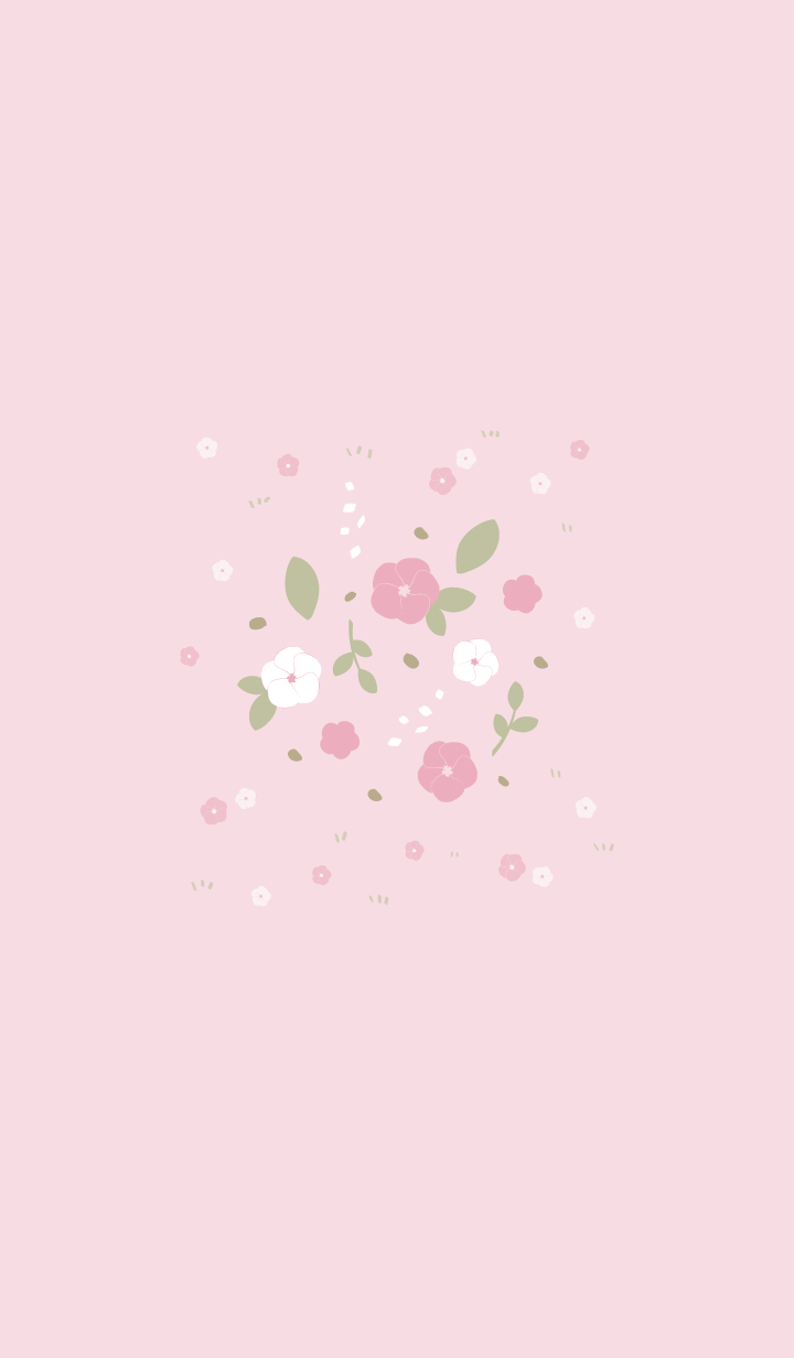 Pink flower Pink world