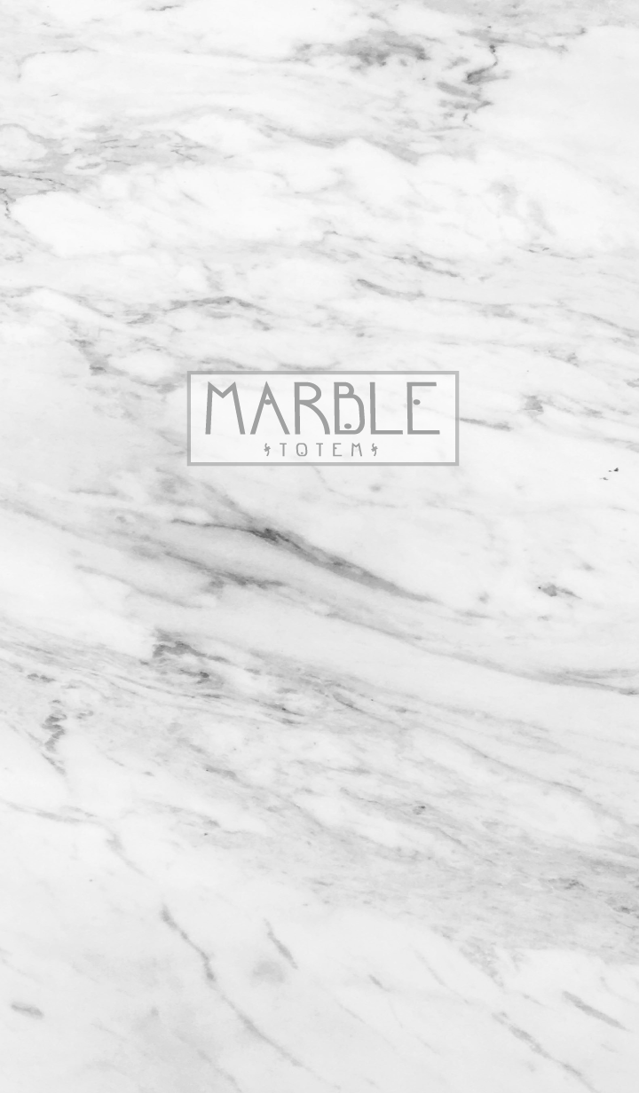 Marble & Totem / Classic White