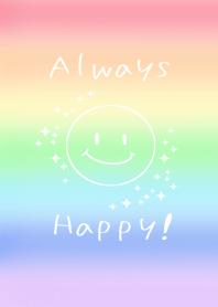 Always Happy!with smile!