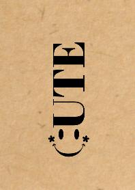 CUTE SMILE Craft x Black