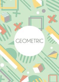 Geometric Peppermint Green