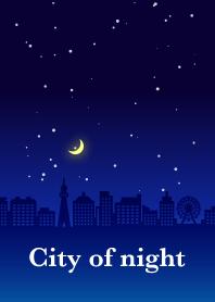 City of night(navy blue)
