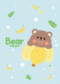 Bear Banana Cutie