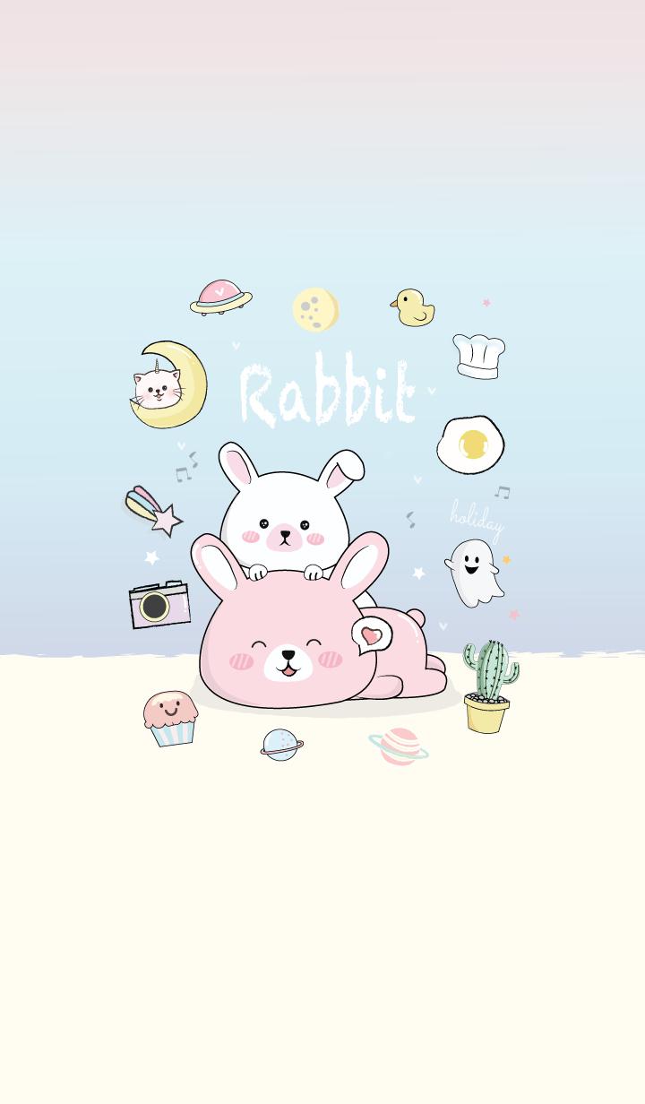 Rabbit Pastel.