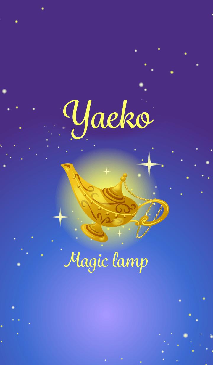 Yaeko-Attract luck-Magiclamp-name