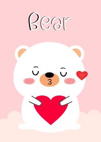 Simple Lovely White Bear (jp)