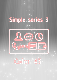Simple series 3 -Color 43 -