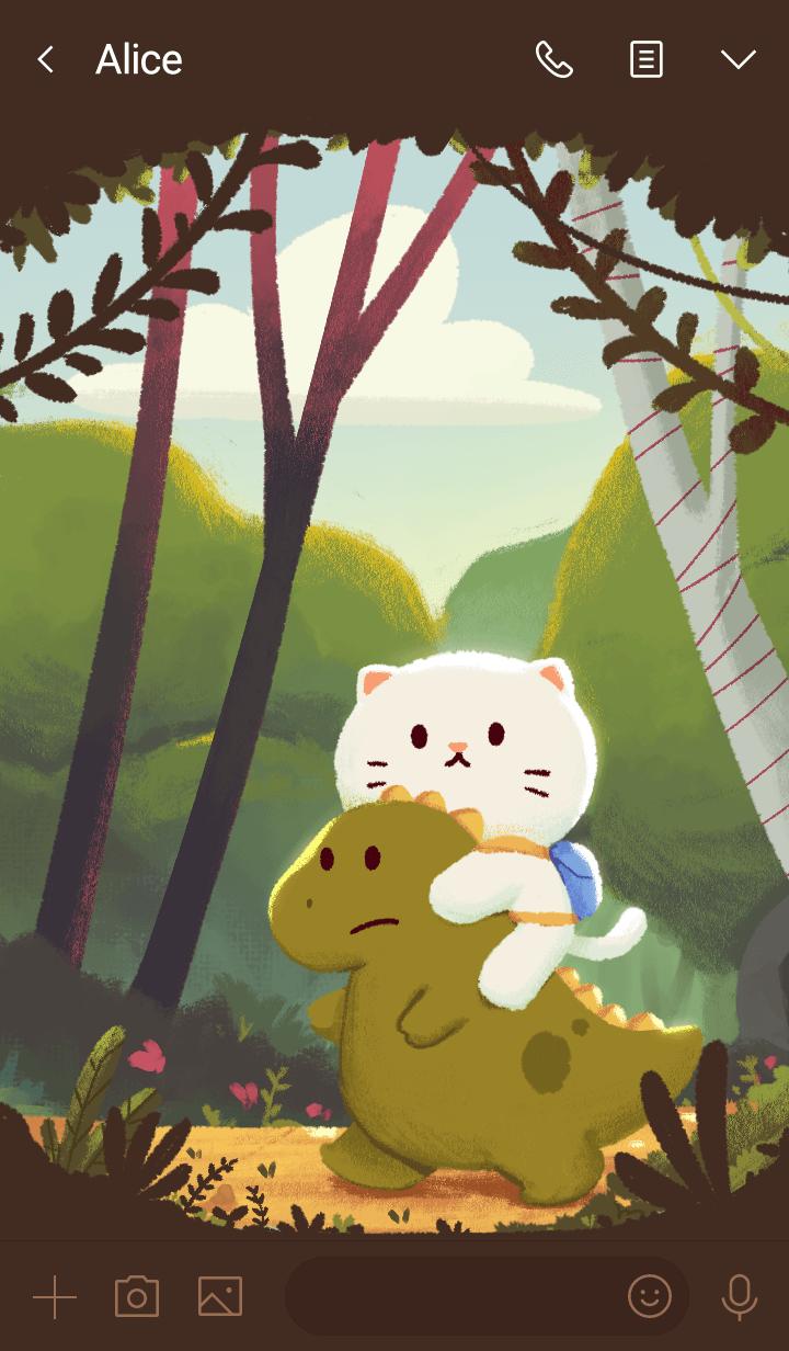 meow & dino