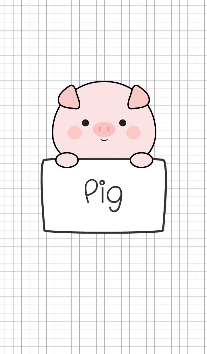 Love Pig Theme Ver.2