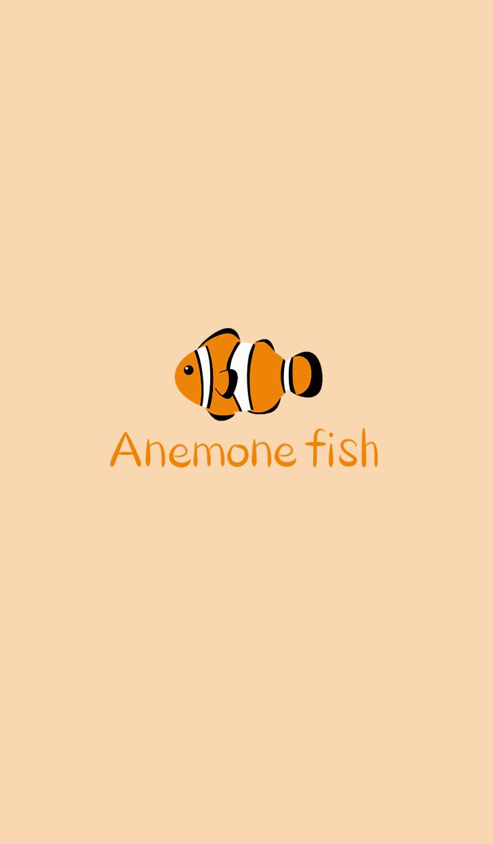 Simple -Anemone fish-