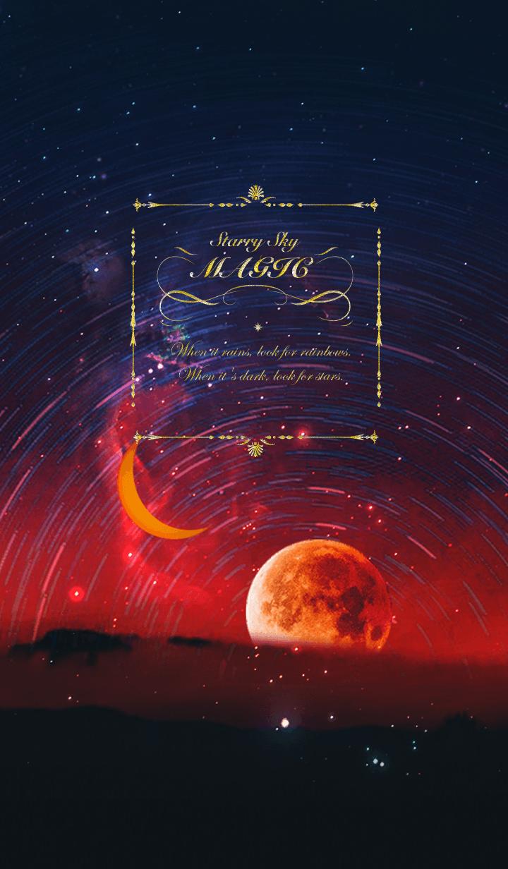 Magic dreams - Fantasy night sky