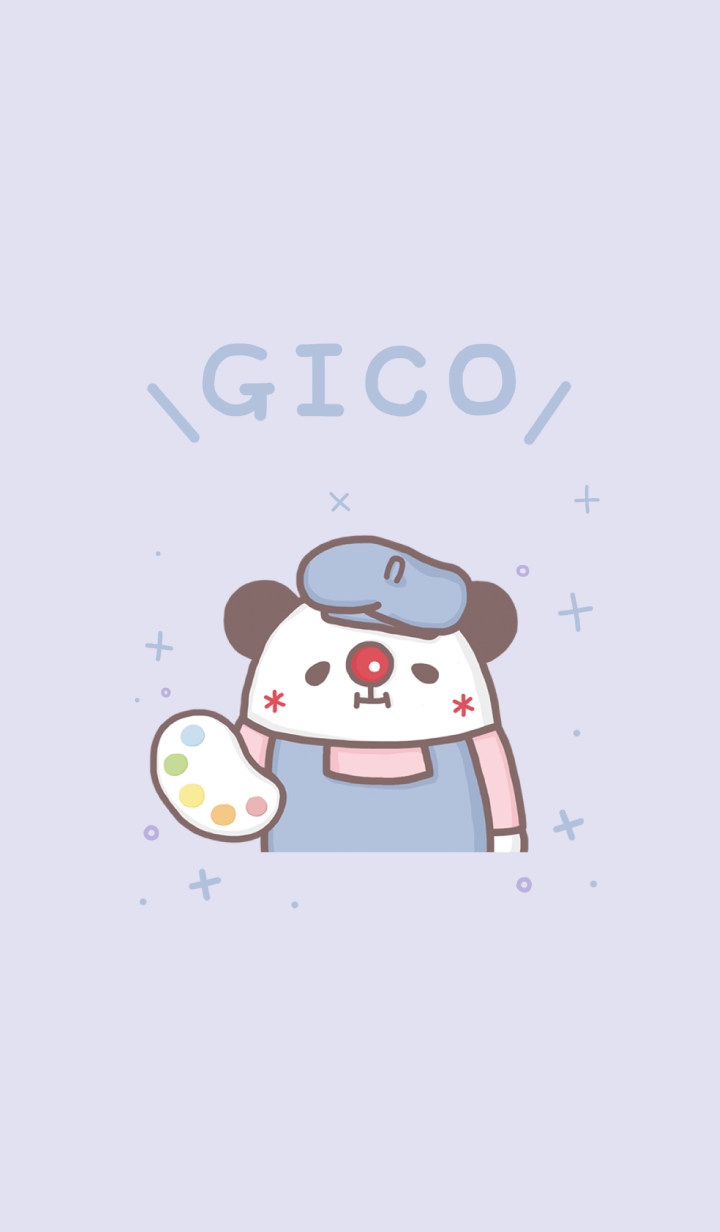 GICO panda painter