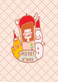 蔡小妹和豆皮過聖誕節