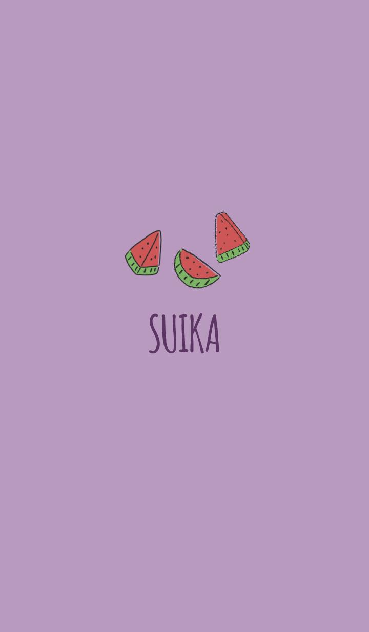 Purple : Watermelon