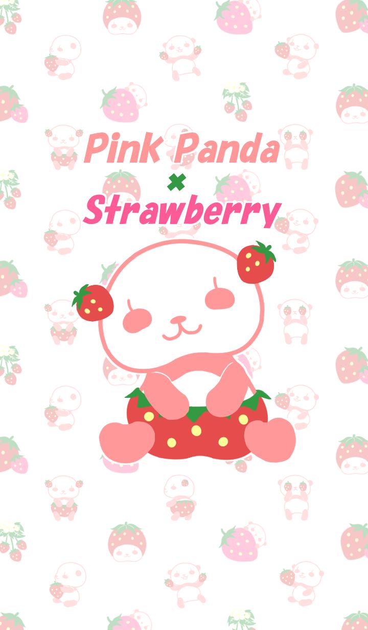 Strawberry and pink panda.