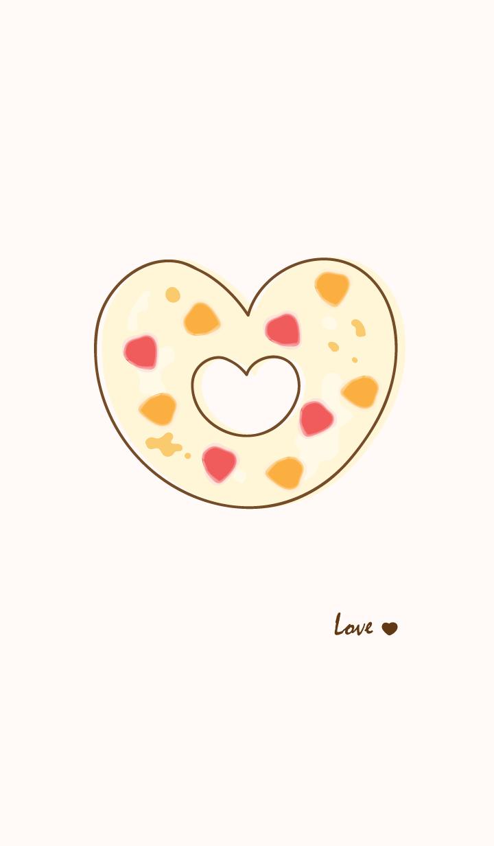 Yummy donuts theme