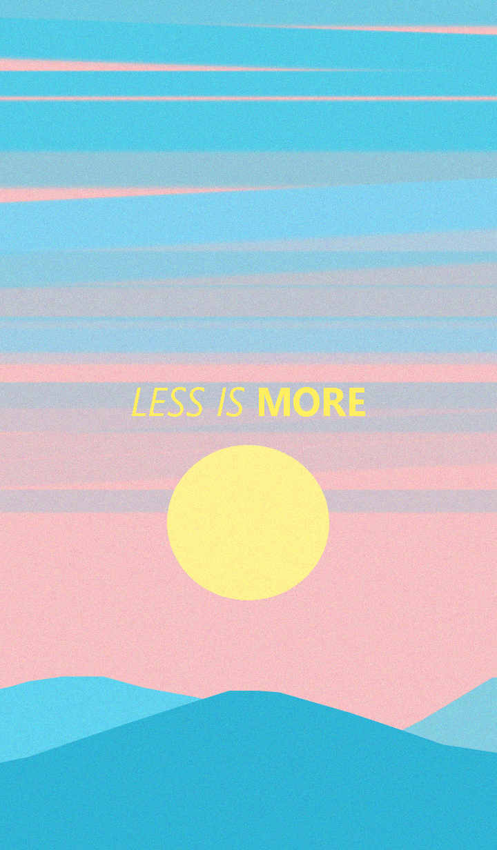 Less is more - #21 Nature