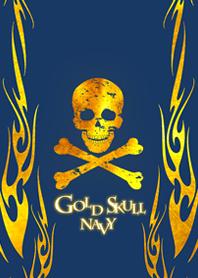 Gold Skull navy