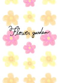 Flower garden-Red-joc