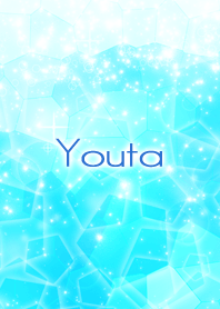 Youta Beautiful Blue sea Crystal – LINE theme | LINE STORE
