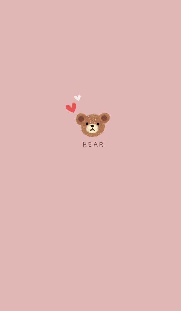 Simple bear design..