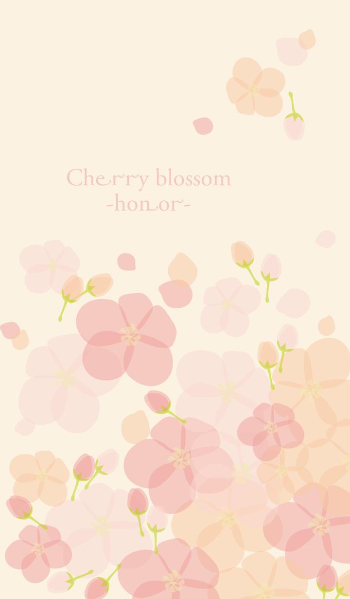 Cherry blossom -honor-