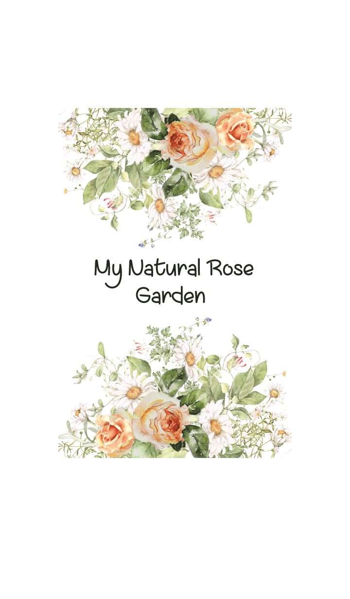 My natural rose garden